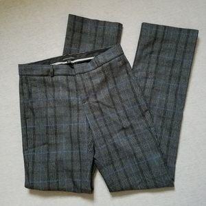 Banana Republic trouser pants career glen check 0